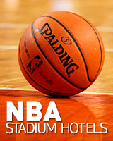 NBA stadium hotels