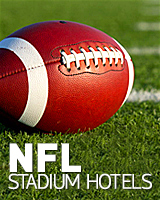NFL stadium hotels