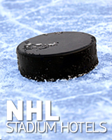 NHL arena hotels